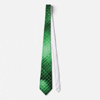 Emerald Prism Tie