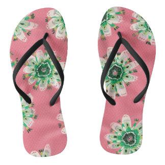 Emerald Rose Sandals