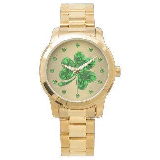 Emerald Shamrock 1 Watch