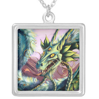 Emerald Sky Dragon Pendant