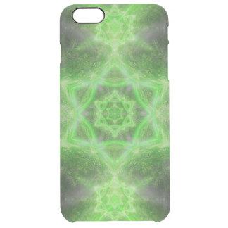 Emerald Star Mandala Clear iPhone 6 Plus Case