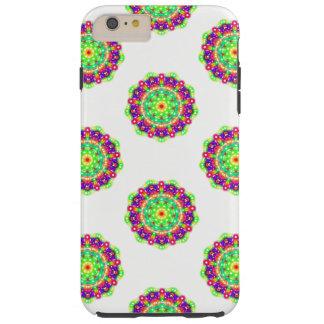 Emerald Starburst Mandala Cell Phone Case / Cover