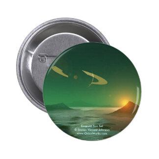 Emerald Sunset Emerald Sun Set Steven Vincent Button