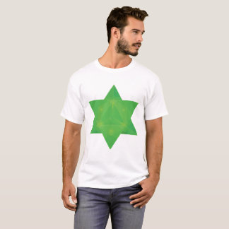 Emerald Tablets Inspired Star Tetrahedron Merkaba T-Shirt