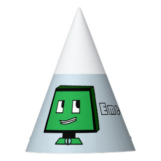 Emerald Tech Party Hat!! Party Hat