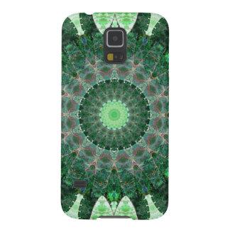 Emerald Turtle Mandala Galaxy S5 Covers