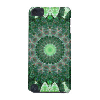 Emerald Turtle Mandala iPod Touch 5G Covers