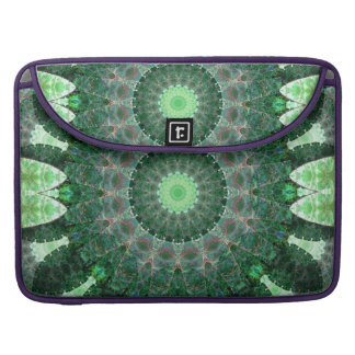 Emerald Turtle Mandala Sleeves For MacBooks