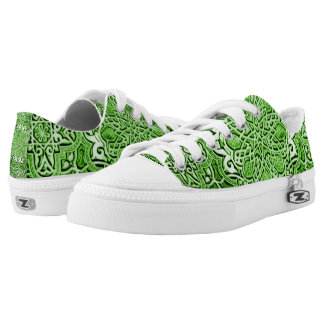 Emerald Valhalla Paradigm Low Top Pro Kickers Printed Shoes