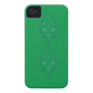 Emeralds green design Case-Mate iPhone 4 cases
