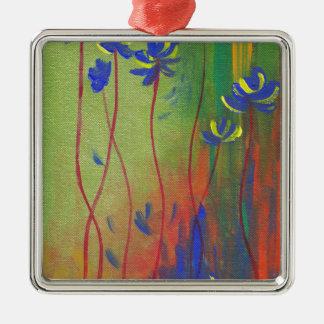 emerge Silver-Colored square decoration