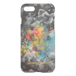 Emergence of Color Exciting Colors Abstract iPhone 7 Case