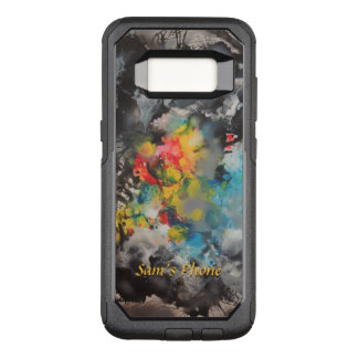 Emergence of Color Exciting Colors Abstract OtterBox Commuter Samsung Galaxy S8 Case