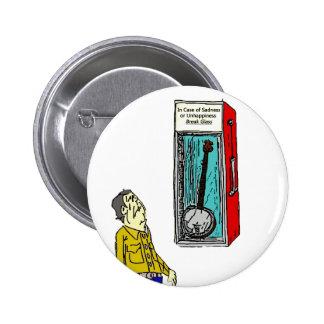Emergency Banjo 6 Cm Round Badge