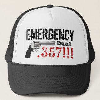 Emergency Dial 357 Trucker Hat