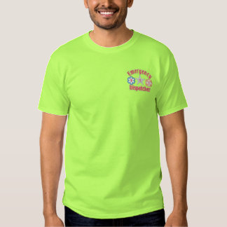 Emergency Dispatcher Embroidered T-Shirt