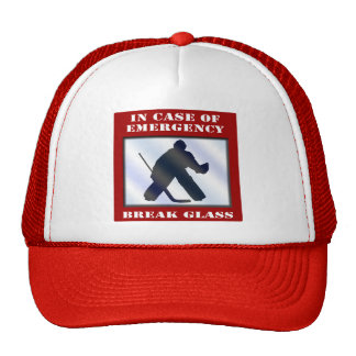 Emergency Hockey Goalie Trucker Hat
