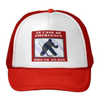Emergency Hockey Goalie Hats