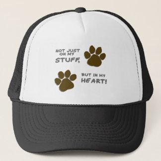 Emergency just on my stuff, but in my heart trucker hat
