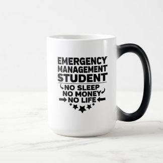 Emergency Management Student No Sleep Money Life Magic Mug
