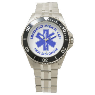 Emergency Medical Care First Responder Wrist Watches