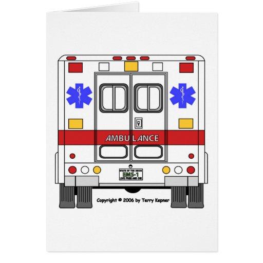 Emergency Medical Services Ambulance (EMS) Cards