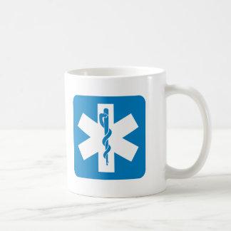 Emergency Medical Services Highway Sign Mug