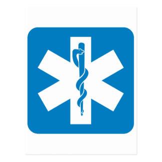 Emergency Medical Services Highway Sign Postcards