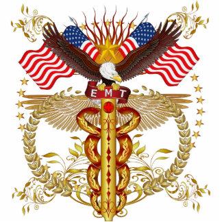 Emergency Medical Technician EMT-2R Photo Sculpture Badge
