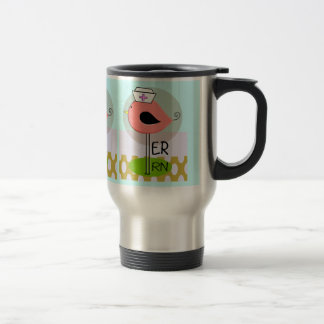 Emergency Room Nurse Retro Bird Travel Mug