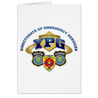 Emergency Services Card