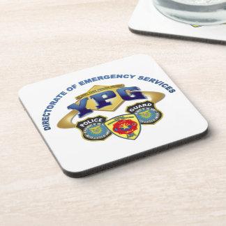Emergency Services Beverage Coaster