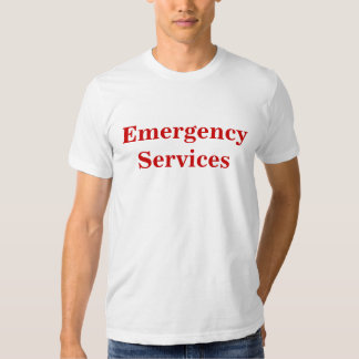Emergency Services T Shirt