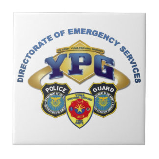 Emergency Services Ceramic Tile