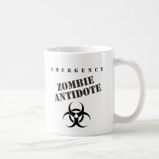 Emergency Zombie Antidote Coffee Mug