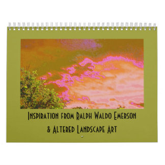 Emerson Inspiration and Altered Art Calendars