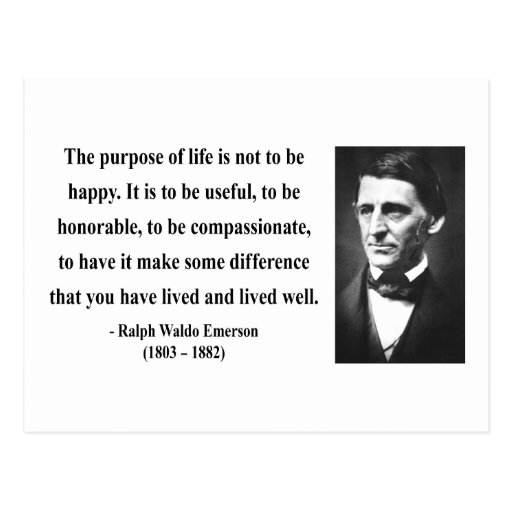Emerson Quote 5b Postcards