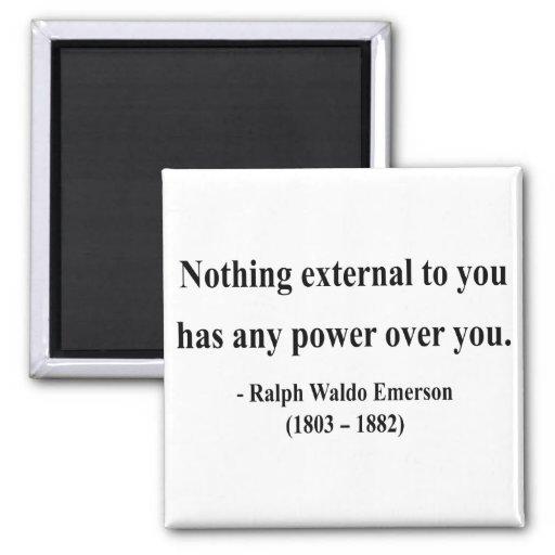 Emerson Quote 8a Fridge Magnet