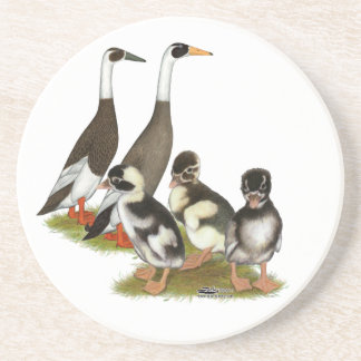 Emery Penciled Runner Duck Family Coaster