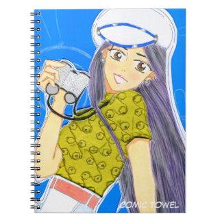Emiko Sailing Spiral Notebook