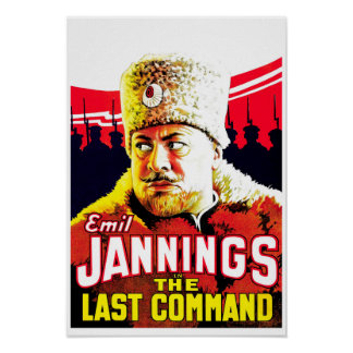 Emil Jannings - The Last Command Poster