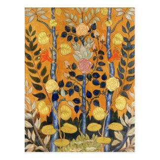 Emile Bernard painting,  Roses Postcard