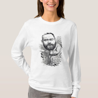 Emile Zola as a naturalist, from 'L'Eclipse' T-Shirt