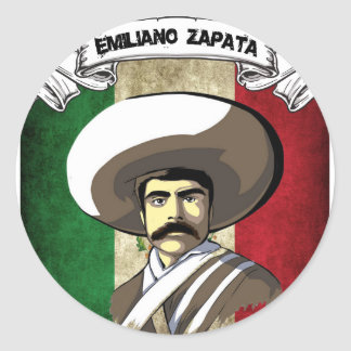 emiliano classic round sticker