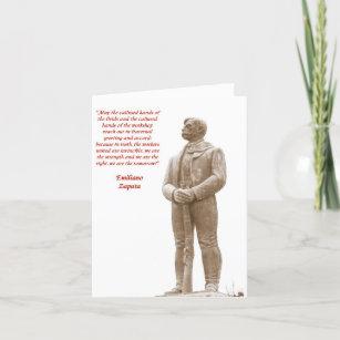 Emiliano Zapata quote 2 note card