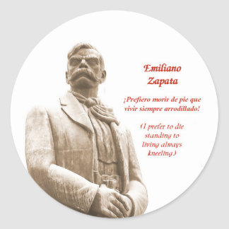 Emiliano Zapata quote sticker