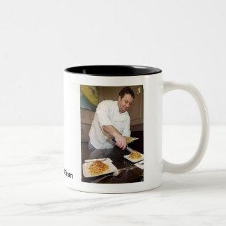 Emilio Oregonian_cropped, PDX Chef.com Two-Tone Coffee Mug