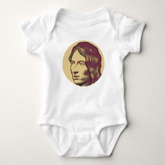 Emily Brontë Baby Bodysuit