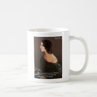 "Emily Bronte ""Souls Same"" Love Quote Gifts & Cards Mugs"