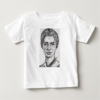 emily dickinson portrait baby T-Shirt